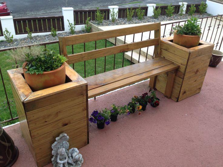 Planter box bench seat for my mum & dad..Xmas 2012 pressie