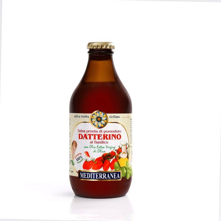 Salsa Pronta di Pomodoro Datterino al Basilico - Ready Datterino Sauce with Basil
