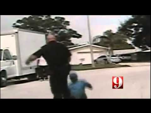 ▶ POLICE BRUTALITY: Cop Turns off Dash Cam & Attacks Unarmed 66 Year Old Man with Dementia