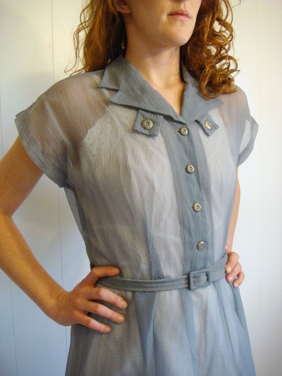 1950s-Sheer-Pale-Blue-Garden-Party-Day-Dress.jpg 570×760 pixels