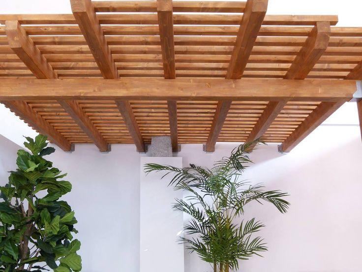 Porches y Pérgolas de madera. Maderas Santana La Laguna