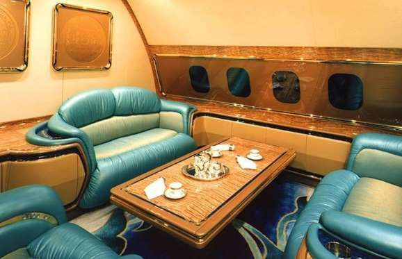 Boeing 747-430 Private Jet: $220+ million (£152+m): Blinged out to the absolute max, the Sulta... - Courtesy E-Systems