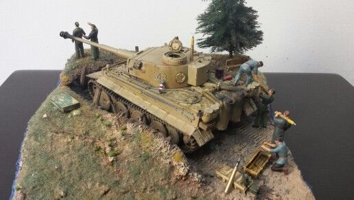 Mi tiger 1 Ausf E escala 1/48