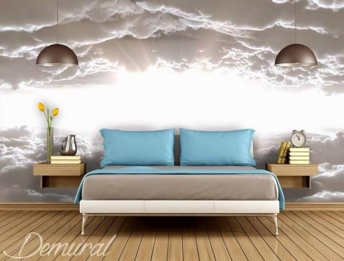 20 Wandgestaltung fototapete schlafzimmer