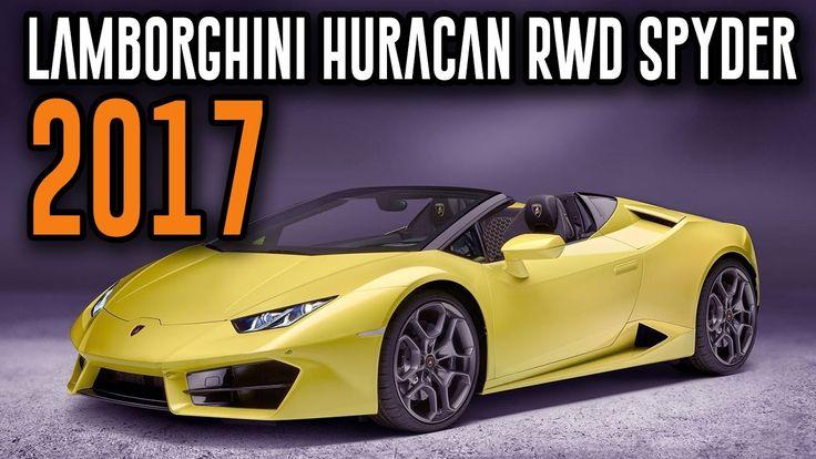 2017 Lamborghini Huracan RWD Spyder Interior, Exterior, Drive, Review