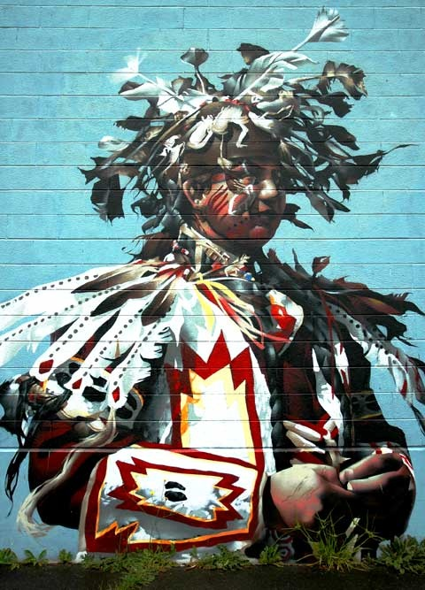 Street Art: Mural. Seattle, Washington. Some rights reserved © 2005 Wonderlane