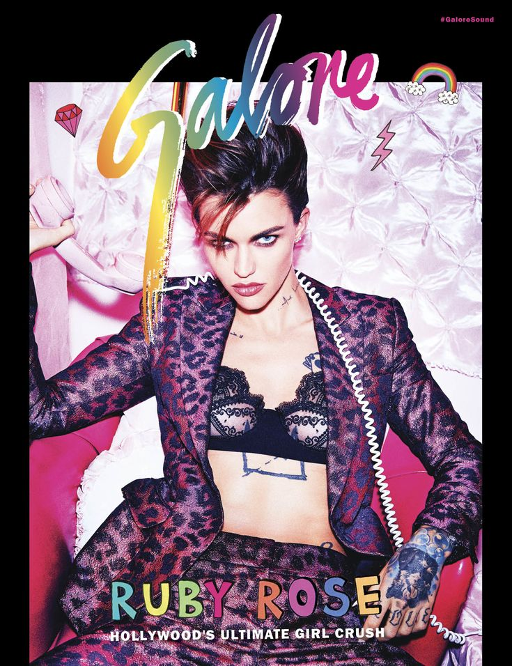 New PopGlitz.com: Ruby Rose Talks Gender Fluidity, Her Girl Crush & More In Galore Magazine - http://popglitz.com/ruby-rose-talks-gender-fluidity-her-girl-crush-more-in-galore-magazine/