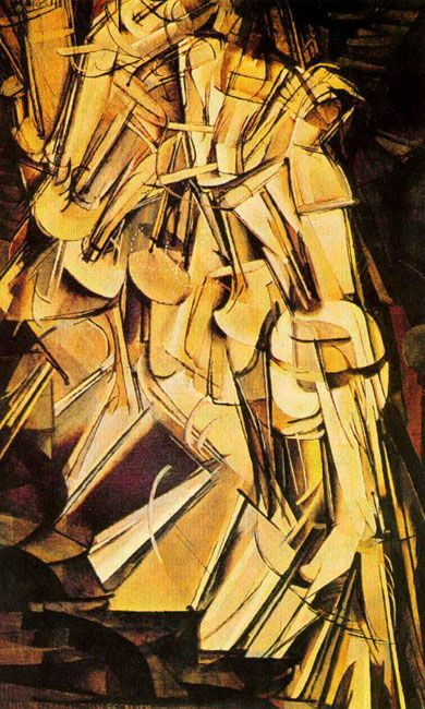 Duchamp nude descending a staircase galleries 167