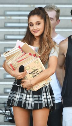 Ariana Grande promotes her new album 'My Everything' at DiverCity Tokyo Plaza on September 14, 2014 in Tokyo, Japan.