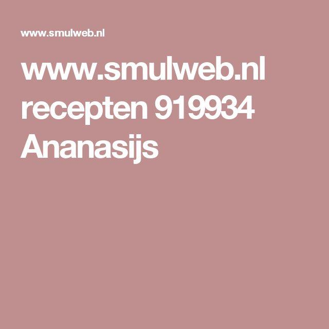 www.smulweb.nl recepten 919934 Ananasijs
