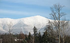 Mt. Washington.  New Hampshire.  (for a long time, my grandfather held the record for climbing it the fastest)