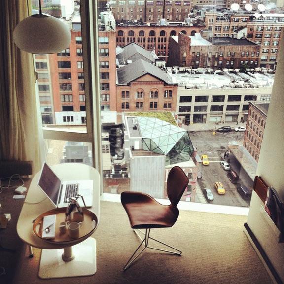 Diana Von Furstenbergs New York loft apartment