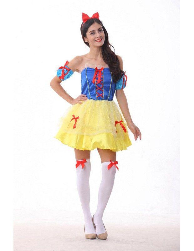 Sexy Snow White Disney Princess Halloween Female Costume