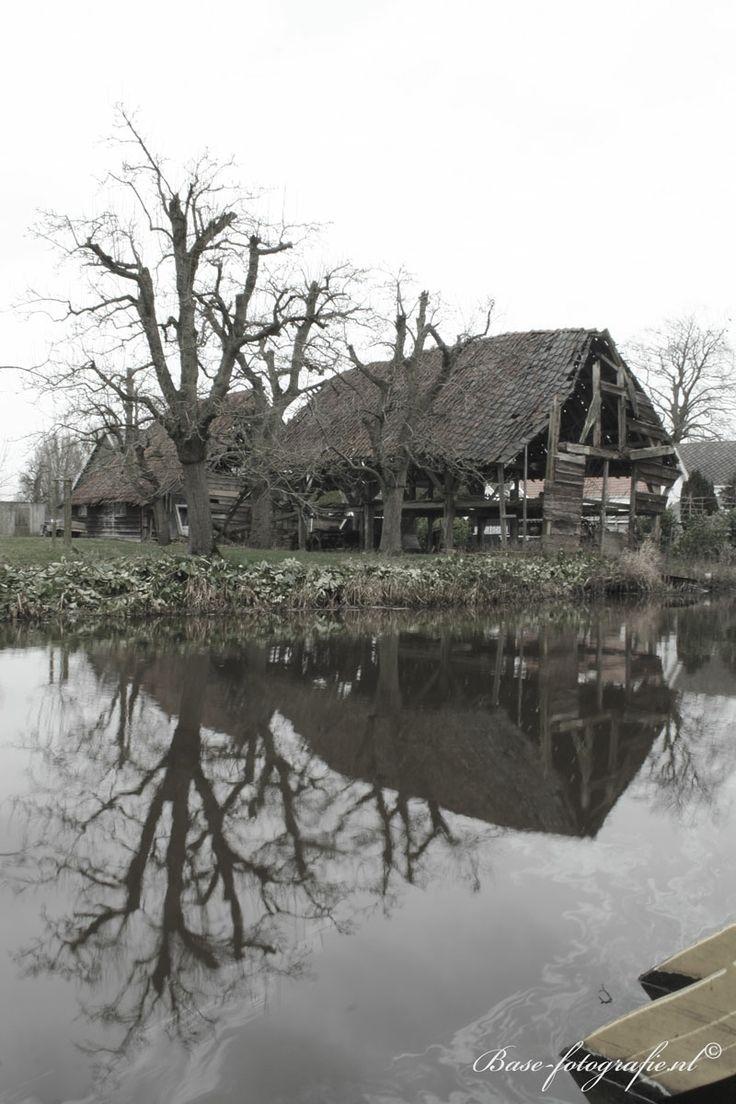 Oude schuur, te Linschoten