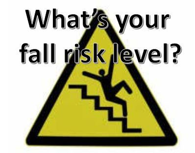 #ClinicSpeak % #ResearchSpeak: Are you a faller?   If you are at risk of falls does increasing the number of steps walked each day reduce the number of falls you have? #ResearchSpeak #ClinicSpeak The study below suggest that pwMS who fall or at increased risk of falling are less mobile and active than those who don't fall. The correlation between reduce activity/mobility (steps per day) was independent of disability (EDSS). The investigators' imply in the conclusion that the link between…