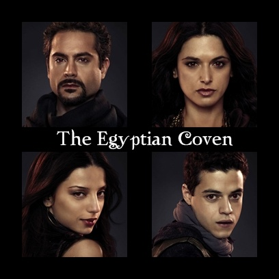 The Egyptian Coven. I loved Benjamin. He was definitelty my favorite character in the entire movie.
