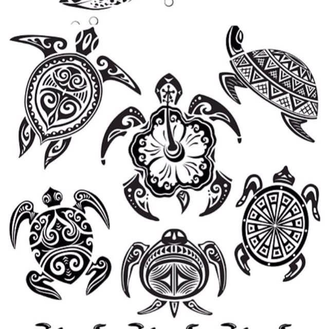 Hawaiian Sea Turtle Tattoos | More Tattoos Pictures Under: Turtle Tattoos
