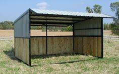 West Wind Shelters - Fully Assembled, Steel Frame, Portable Horse ...