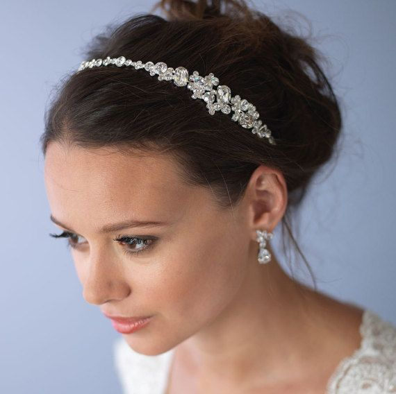 Vintage Wedding Headband Bridal Hair Accessory by USABride on Etsy