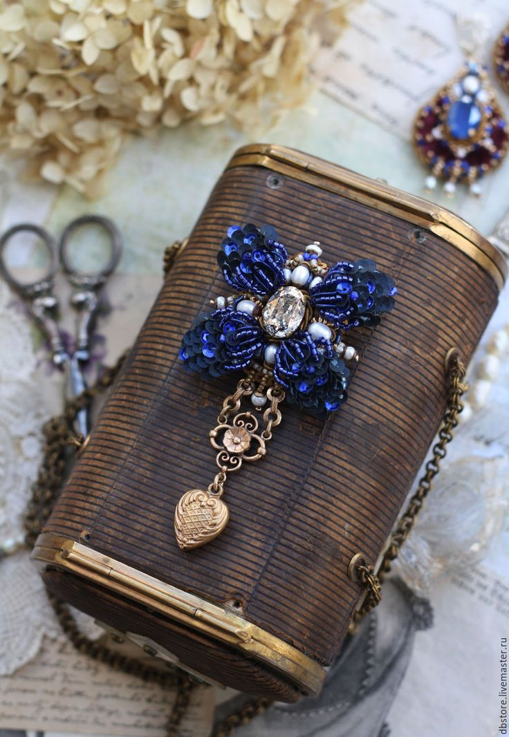 Купить Брошь с каркасным цветком) - комбинированный, брошь цветок, брошь орден, необычное украшение