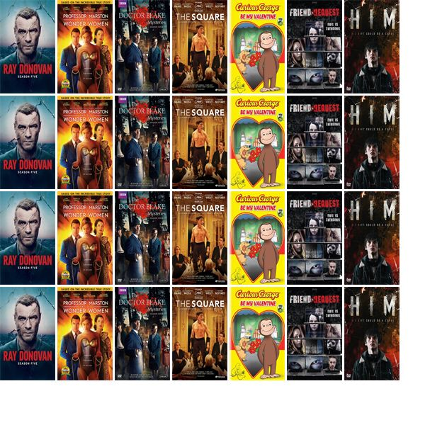 """Saturday, February 3, 2018: The Marcellus Free Library has seven new movies in the DVDs section.   The new titles this week include """"Ray Donovan: The Fifth Season,"""" """"Professor Marston & the Wonder Women,"""" and """"The Doctor Blake Mysteries: Season Four."""""""