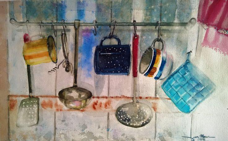 La Cocina /Watercolour
