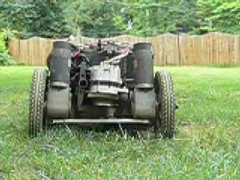 remote mower with alternator