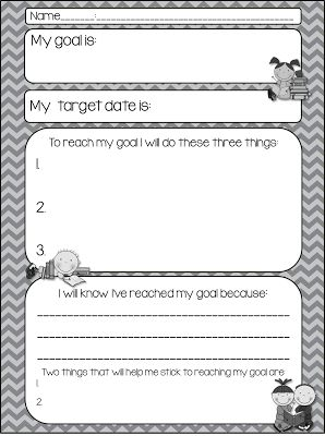 25+ best ideas about Student goal settings on Pinterest | Student ...