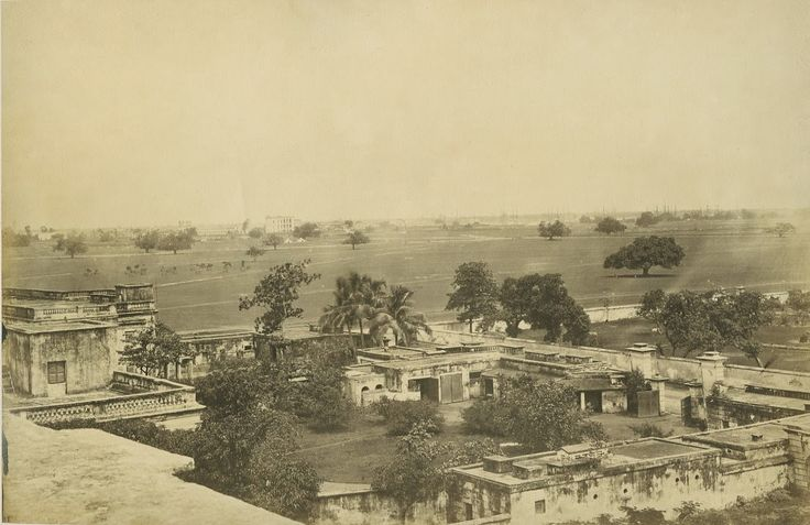 View of Calcutta - 1880's (source eBay)