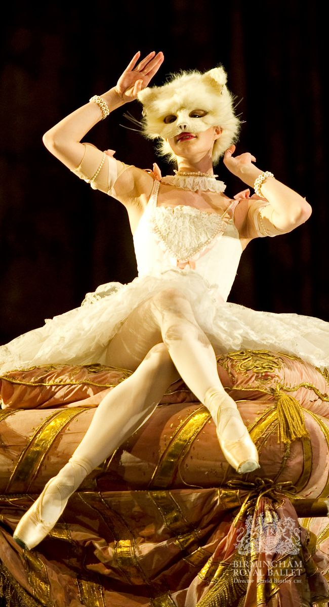 Birmingham Royal Ballet - The Sleeping Beauty; Yvette Knight as the White Cat; photo: Bill Cooper