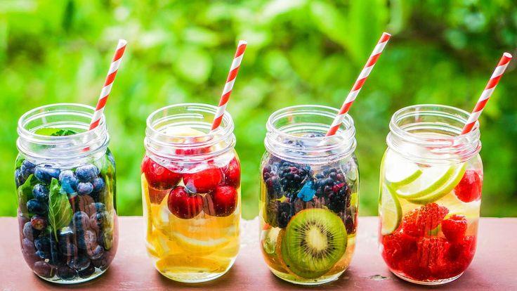 Wie wir mit Flüssigkeit unseren Körper #entgiften und fit machen können #Detox