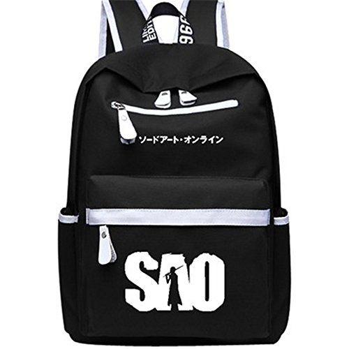 2324c9ed9776 Siawasey Sword Art Online Anime SAO Cosplay Backpack Shoulder Bag ...