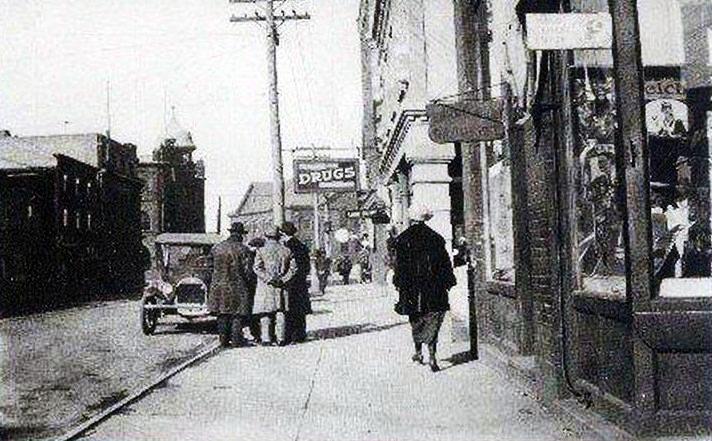 Charlotte Street_Sydney_Cape Breton_Nova Scotia_1922 http://CaperMemories.Com