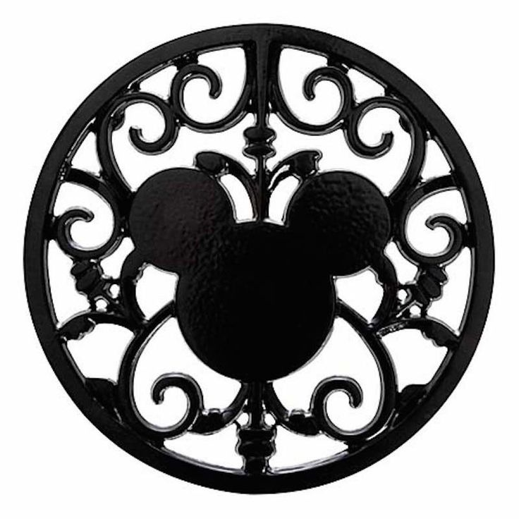 disney parks gourmet mickey mouse icon black hot pad metal trivet new | Collectibles, Disneyana, Contemporary (1968-Now) | eBay!