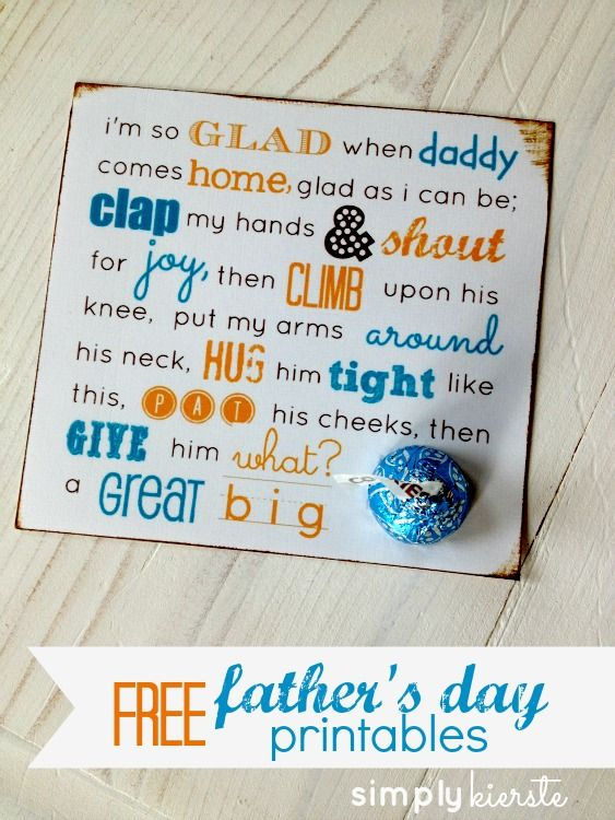 Father's Day Printables for Kids