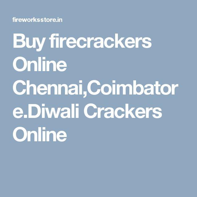 Buy firecrackers Online Chennai,Coimbatore.Diwali Crackers Online