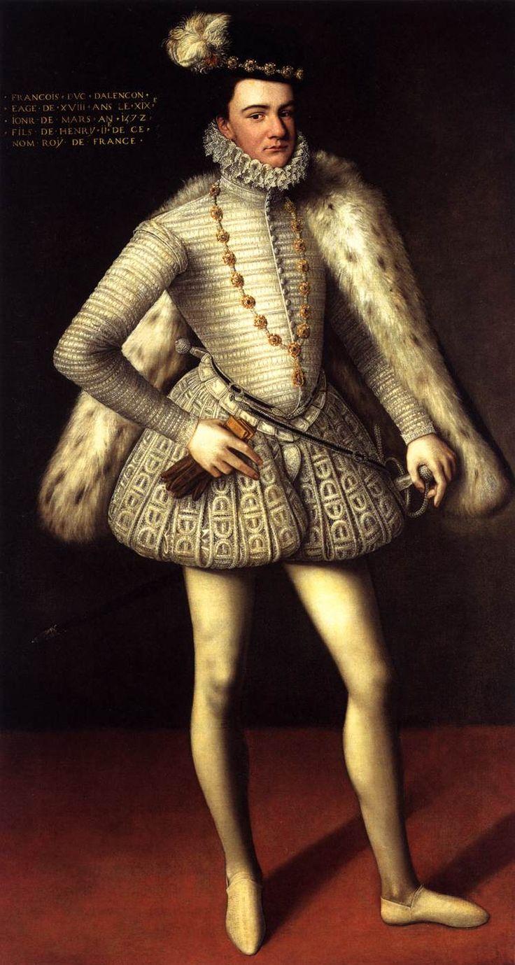 UNKNOWN MASTER, French - Prince Hercule François, Duc d'Alençon (1572)