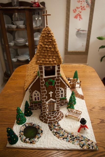 127 Best Gingerbread House Church Images On Pinterest