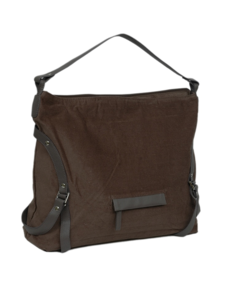 Baggit goes edgy and experimental with this smoke tote bag!