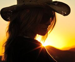 summer beauty: Picture, Photos, Cowboys Hats, Country Girls, Silhouette, Sunsets, Girls Style, Photography, Cowgirl Hats
