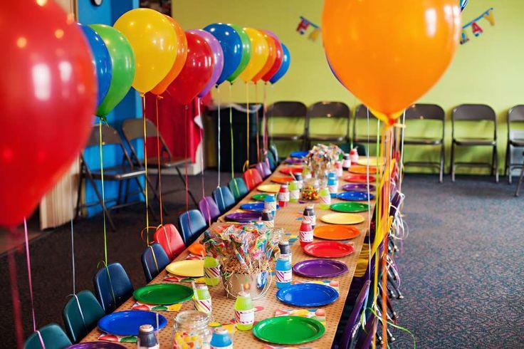 5th Birthday Rainbow Bash | CatchMyParty.com