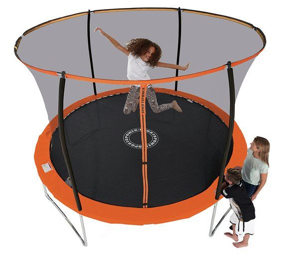 Buy Sportspower 8ft Trampoline With Folding Enclosure at Argos.co.uk - Your Online Shop for Trampolines and enclosures, Trampolines and accessories, Outdoor toys, Toys.