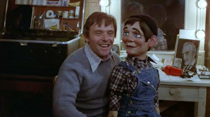 Directed by Richard Attenborough.  With Anthony Hopkins, Ann-Margret, Burgess Meredith, Ed Lauter. A ventriloquist is at the mercy of his vicious dummy while he tries to renew a romance with his high school sweetheart.