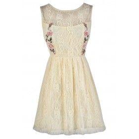Cream Lace Dress, Beige Lace Dress, Cute Lace Dress, Lace Summer Dress, Cute Summer Dress, Boho Lace Dress, Cream Lace Party Dress, Cream Lace A-Line Dress, Beige Lace Party Dress, Beige Lace Summer Dress, Cross Stitch Lace Dress