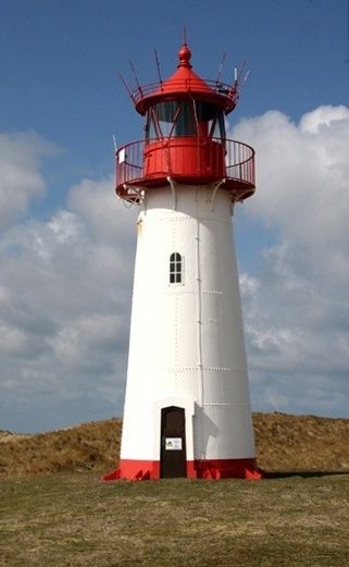 Leuchtturm List-West, Ellenbogen - Sylt, Germany
