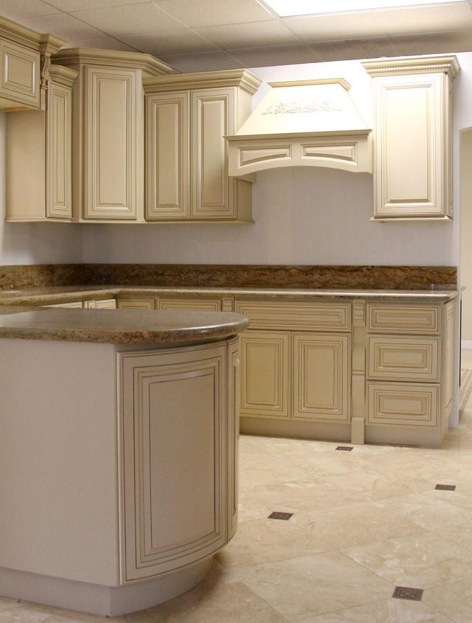 cream kitchen cabinet antiqued cabinets and this floor kicks 14214