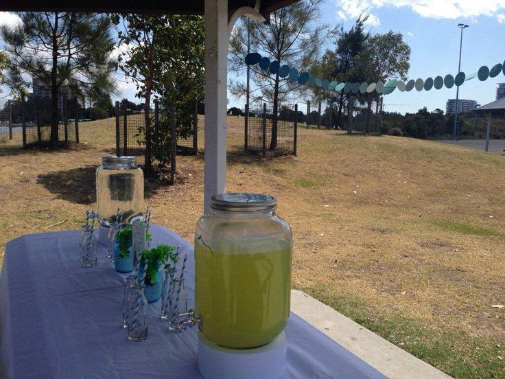 Under the Sea themed Drink Station by Sweet Soirees (www.sweet-soirees.com.au)