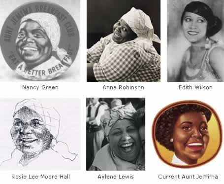 The Grown Up Gerber Baby (And Other Food Logo Histories) Aunt Jemima