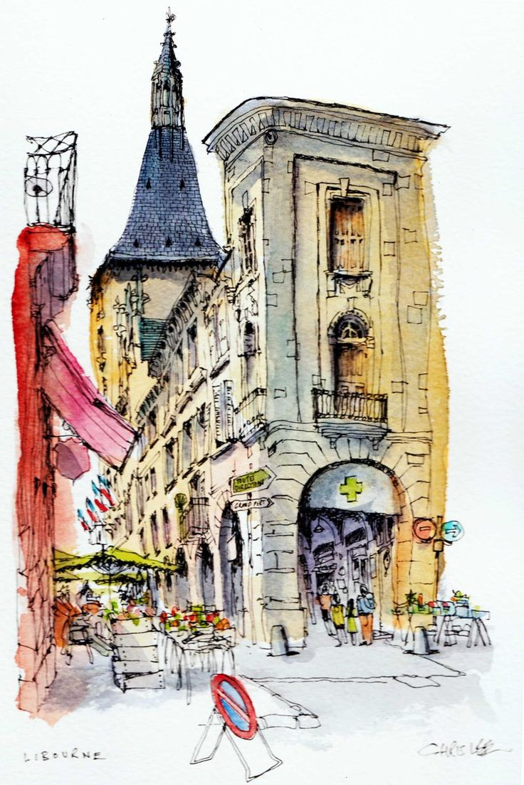735 best water color journaling images on pinterest for Chris lee architect