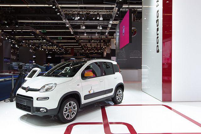 #Fiat #Panda4x4 Antartica at 65th International Motor Show IAA 2013 in Frankfurt